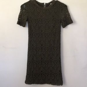 DIVIDED Lace Slim Fit Dress